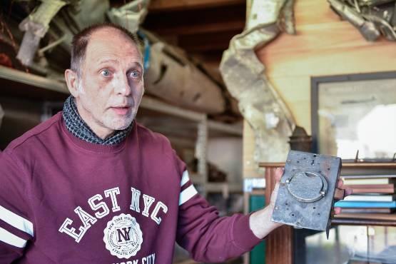 Sur les traces de Philip Morini, ce chasseur d'épaves d'avions allemands de la Seconde Guerre mondiale